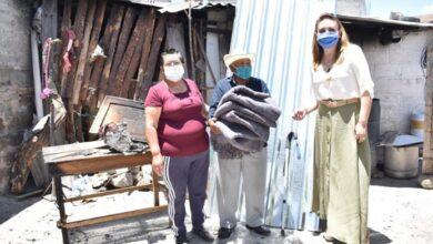 Photo of Presidenta del DIF Tulancingo y alcalde FPR apoyaron a familia vulnerable afectada por incendio