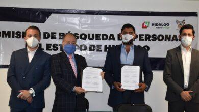 Photo of Firma Hidalgo convenio de colaboración con la Fundación de Investigaciones de Niños Robados y Desaparecidos