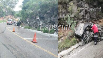 Photo of Accidente en carretera de Hidalgo deja dos muertos