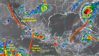Photo of El pronóstico para hoy indican intervalos de chubascos para Hidalgo