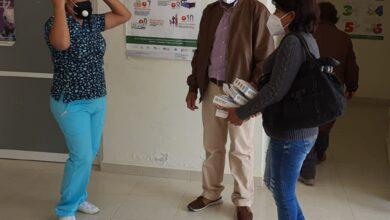 Photo of Antorcha gestionó cubrebocas para personal de la Unidad Médica de Nopala