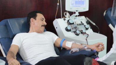 Photo of Fayad primer donador de plasma en Hidalgo