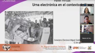 """Photo of IEEH organiza Panel Virtual """"Urna Electrónica en el contexto indígena"""""""