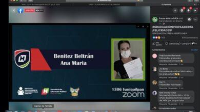 Photo of Ceremonia de clausura virtual de graduados de preparatoria abierta del IHEA