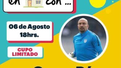 Photo of Oscar «El Conejo» Pérez conversará en vivo en el panel deportivo «Platicando en casa con»