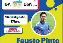 Photo of Fausto Pinto conversará con aficionados a través del panel «Platicando en casa con»