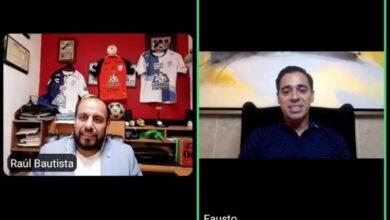 Photo of Fausto Pinto conversó con aficionados en el panel deportivo «Platicando en casa con»