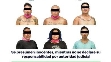 Photo of Con armas de fuego y presunta droga, asegura SSPH a 6 individuos en Pachuca