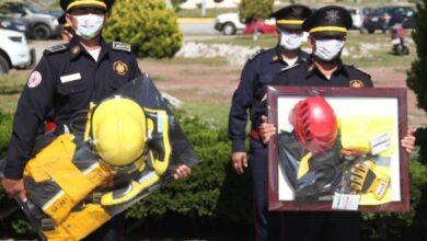 Photo of Entrega SSPH equipamiento en el Día del Bombero