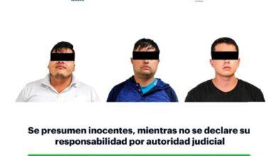 Photo of Detiene Policía de Hidalgo a tres hombres con presunta droga