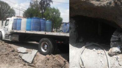 Photo of Catean vivienda en Hidalgo donde había una toma clandestina