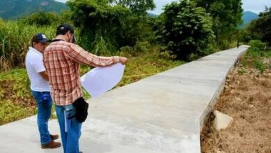 Photo of Supervisan construcción de Dren Fluvial en Nuevo Coyolar Xochiatipan