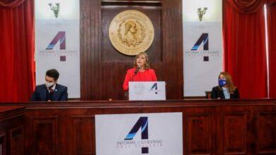 Photo of Rinde Yoli Tellería su Cuarto Informe de Gobierno