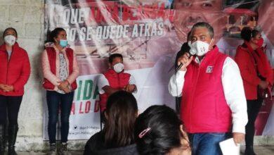 Photo of Ofrece candidato de Agua Blanca vivienda digna a vecinos del Ejido de Milpa Vieja