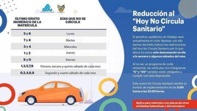 Photo of Reducción al Hoy no Circula Sanitario