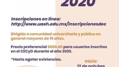 Photo of Abre UAEH inscripciones para curso Practica Inglés en Línea
