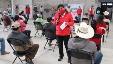 Photo of Juliana Ortiz se compromete a trabajar por las familias de Huichapan