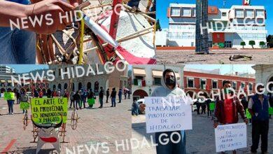 Photo of Pirotécnicos de Hidalgo se manifiestan por falta de trabajo