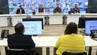 Photo of Tania Meza presidenta del Concejo Municipal de Pachuca recorre el C5i