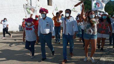 Photo of Líderes y luchadores sociales de las comunidades de Atlapexco respaldan a Eugenio Sánchez