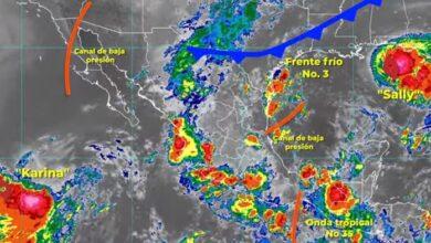 Photo of Hoy, el Frente Frío Número 3 traerá  lluvias intensas en zonas de Hidalgo