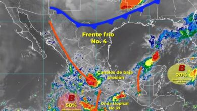 Photo of El Frente Frío No. 4 ocasionará lluvias intensas en Hidalgo: Conagua