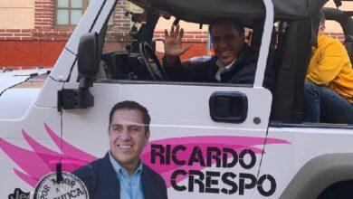 """Photo of Con el lema """"Me Pongo en tus Zapatos"""", Ricardo Crespo inició campaña como candidato independiente"""
