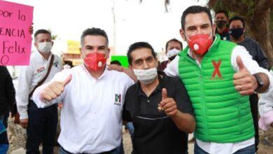 Photo of La población de Mineral de la Reforma tiene garantía con Israel Felix