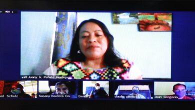 Photo of Juana Peñate, poeta Ch´ol, ganadora del premio de Literaturas Indígenas de América 2020