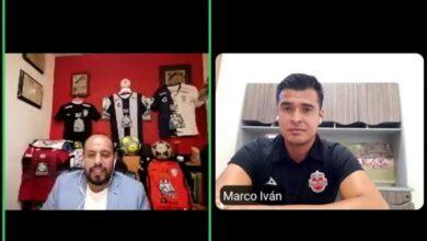 Photo of Marco Iván Pérez Riego conversó con aficionados en el panel «Platicando en casa con»