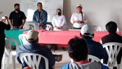 Photo of Susana Paz candidata del PESH, se reúne con Horticultores del Valle del Mezquital