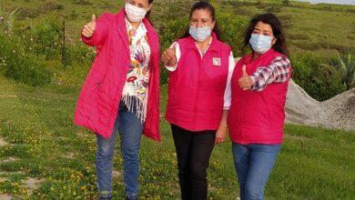 Photo of La campaña de Adriana Chávez se fortalece con la visita de la presidenta del ONMPRI