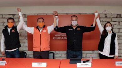 Photo of Presentan a Rubén Muñoz como candidato a presidente municipal de Pachuca por MC