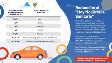 Photo of Anuncia Gobernador de Hidalgo, modificación en el «Hoy No Circula»