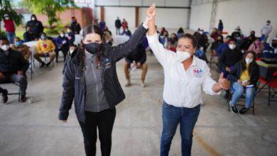 Photo of Se reúne con jóvenes Martha Monterrubio, en el municipio de Atotonilco de Tula