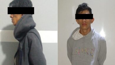 Photo of Policía municipal de Tizayuca detiene a dos sujetos, por portación de arma de fuego y robo