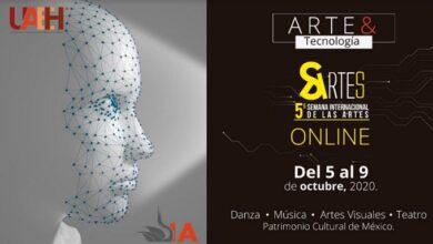 Photo of Quinta Semana Internacional de las Artes en UAEH, del 5 al 9 de octubre