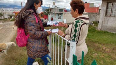 Photo of Guadalupe Orona, dirigente de Antorcha Campesina y Ricardo Crespo, buscan llegar a la casa Rule