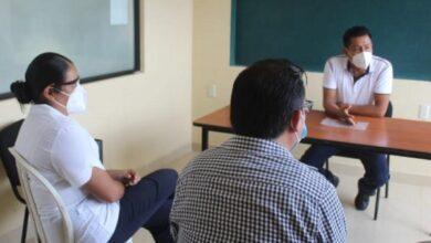 Photo of Artemio Gutiérrez sostiene reunión con Sector Salud en Xochiatipan