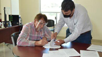 Photo of Celebra CAAMT contrato por 10 mil metros cúbicos anuales de agua