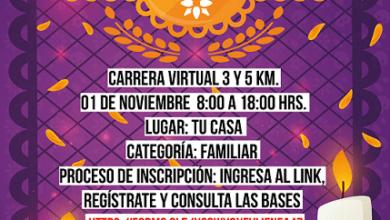 Photo of INHIDE realizará la carrera virtual Xantolo Run