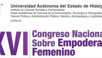 Photo of En puerta, XVI Congreso Nacional sobre Empoderamiento Femenino en la UAEH