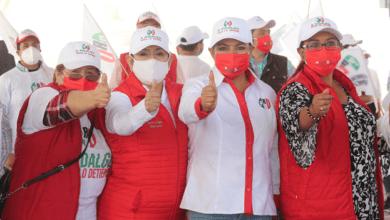 Photo of Se siente el apoyo de la gente de Zapotlán, Acayuca y San Pedro a favor de Lorena Gómez