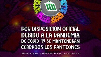 Photo of Panteones de Mineral de la Reforma permanecerán cerrados