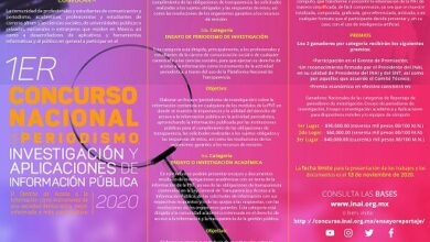 Photo of El ITAIH invita a participar en el 1er concurso nacional de Periodismo, Investigación y Aplicaciones