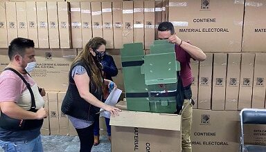 Photo of IEEH entrega material electoral a Juntas Distritales del INE en Hidalgo