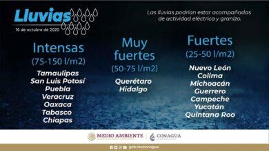 Photo of Se pronostican lluvias en Hidalgo
