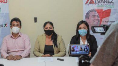 Photo of Militantes del PVEM renuncian para sumarse a campaña de Alejando Álvarez, candidato del PRI en Tula