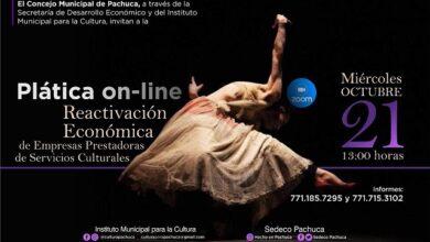 Photo of Cultura Municipal y Sedeco ofrecen charla para la reactivación económica