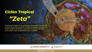 Photo of Zeta mantendrá las condiciones para lluvias intensas en Yucatán